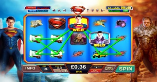 Man of Steel Slot by Playtech