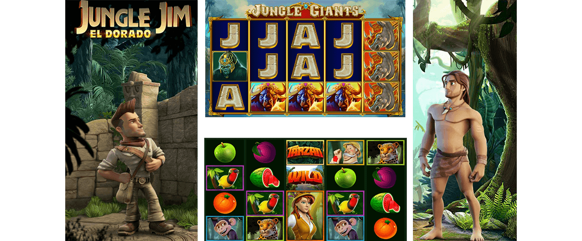 Jungle Themed Slot Games are Very Popular