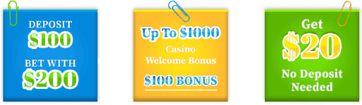 Online Casinos Offer a Range of Welcome Bonuses