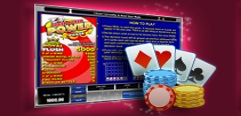 Ruby Fortune Casino Video Poker